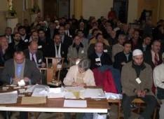 Image de la rencontre au lycée Maurice La Mache, à Lyon (8ème)