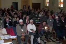 Une autre image de la rencontre entre prêtres et imams