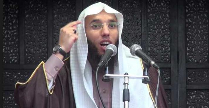 Rachid Abou Houdeyfa, imam à la mosquée de Brest.