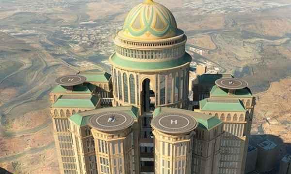 Le plus grand hôtel du monde sera à La Mecque