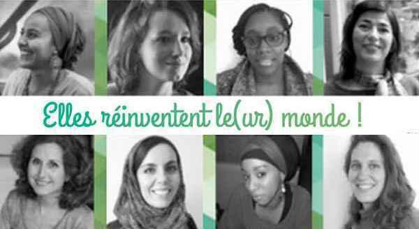 Huit modèles féminins sélectionnés parmi 99 candidatures qui ont répondu à l'appel de W(e)Talk 2015.