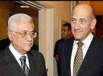 Mahmoud Abbas et Ehud Olmert