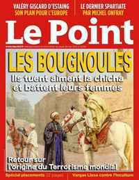Une couverture parodique du Point.