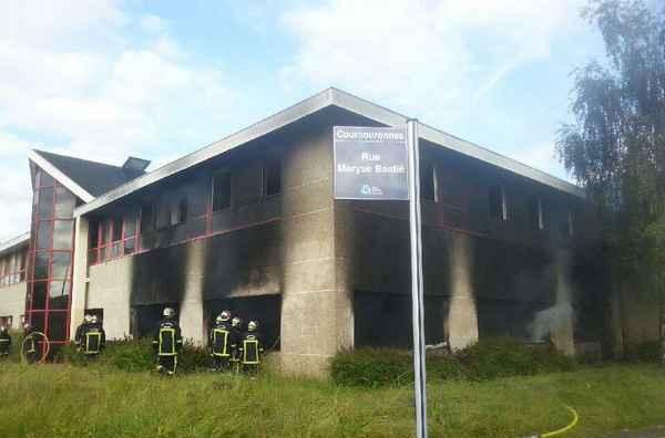 Les locaux de Barakacity à Courcouronnes ont été ravagés par un incendie le 30 mai.