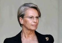 La ministre de l'Intérieur Michèle Alliot-Marie