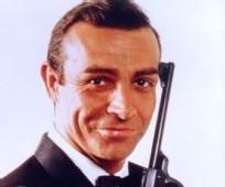 James Bond joué par l'acteur Sean Connery