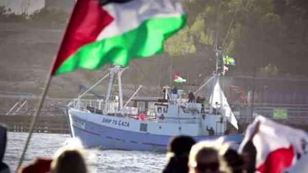 Flottille pour Gaza : le navire suédois intercepté par Israël