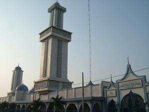 La Grande Mosquée de Cotonou.