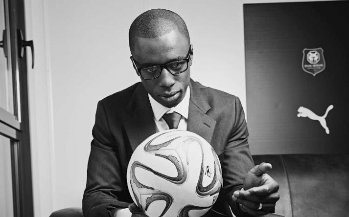 Joueur international, Cheikh M'Bengué est né le 23 juillet 1988 à Toulouse et est issu du centre de formation du Toulouse FC. Depuis 2013, il est dans l'équipe du Stade rennais. (Photo : © BSZ)