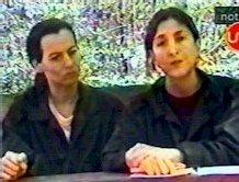 De gauche à droite, Clara Rojas et Ingrid Betancourt