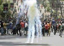Affrontements mardi 1er janvier entre les partisans d'Odinga et la police