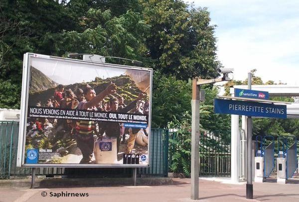 Le Secours islamique France investit le métro parisien