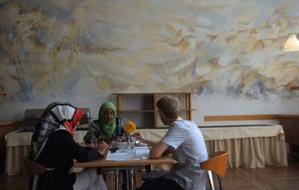 Séances plénières, ateliers de travail thématiques mais aussi conversations interpersonnelles rythment les journées de la 6e Conférence annuelle de la Muslim and Jewish Conference. (Photo : MJC)
