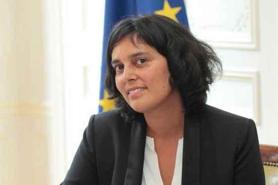 Myriam El Khomri nommée au poste de ministre du Travail le 2 septembre 2015.