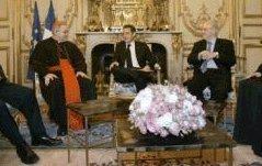 Jeudi soir, le président a reçu les autorités religieuses pour la cérémonie des vœux