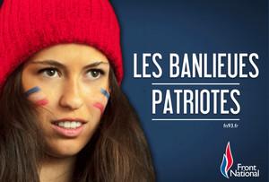 Une affiche de campagne du Front national en Seine-Saint-Denis.