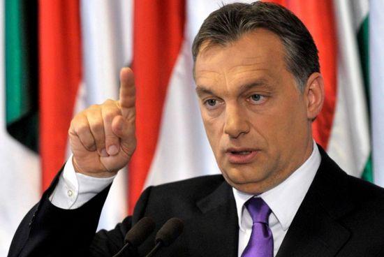 Viktor Orban, Premier ministre hongrois, se distingue en Europe par sa xénophobie et ses propos antimusulmans.