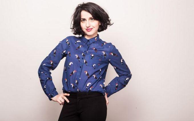 La comédienne Nadia Roz © Rachel Sadeddine