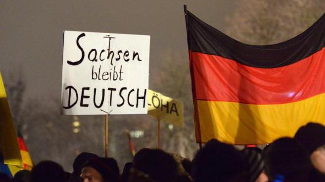 Pegida se radicalise avec l'accueil massif de migrants en Allemagne