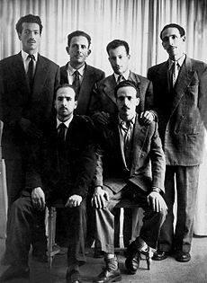 Le groupe des Six.
