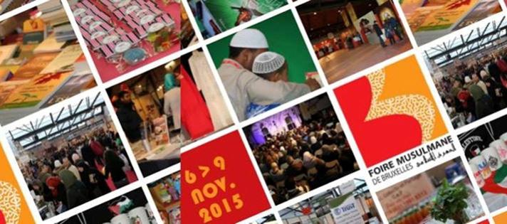 """La Foire musulmane de Bruxelles revient pour une 4e édition du 6 au 9 novembre 2015 avec le thème """"Islam et réformes""""."""