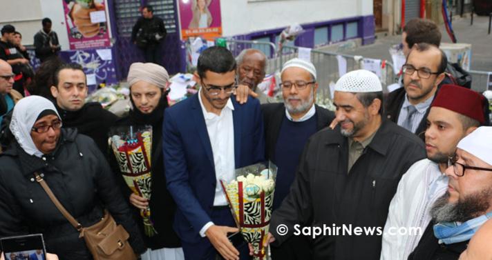 A Paris, l'hommage des imams aux victimes des attentats