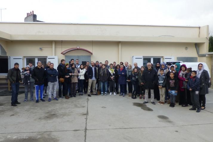 Une famille originaire de Cherbourg, dont un membre a été victimes des attentats du 13 novembre, à la rencontre des musulmans. © La Manche Libre