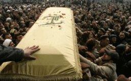 Funérailles d'Imad Moughnieh assassiné mardi à Damas