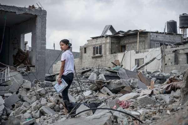 L'exposition « Palestiniens entre deux guerres », hébergée par la Maison des Metallos est appelée à l'interdiction par le CRIF. © Yann Libessart