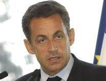 Le président de la République Nicolas Sarkozy