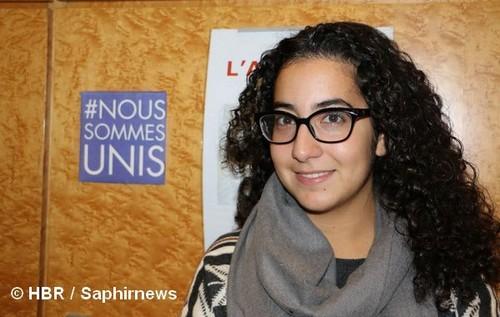 Radia Bakkouch est présidente du mouvement interconvictionnel des jeunes Coexister.