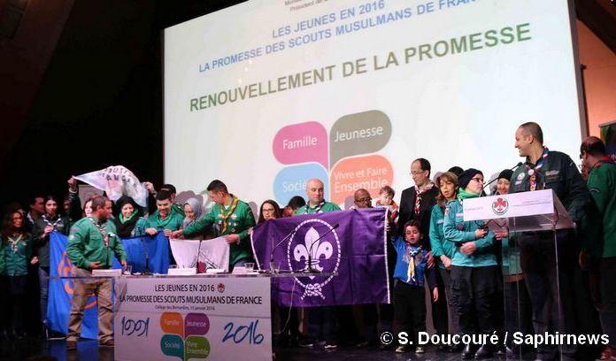 Les Scouts musulmans de France ont renouvelé leur promesse au colloque organisé le 15 janvier à Paris, à l'occasion de leur 25e anniversaire.