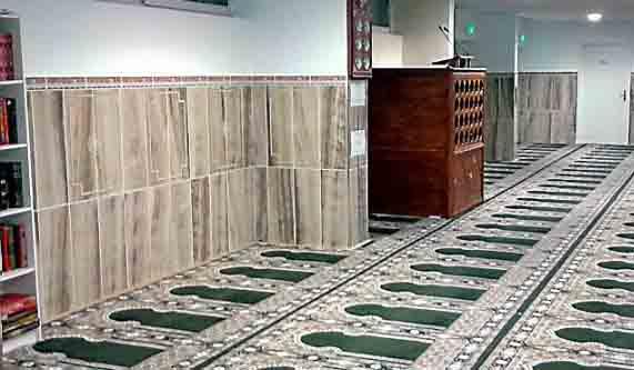 La mosquée de la Miséricorde pourra accueillir jusqu'à 600 fidèles.