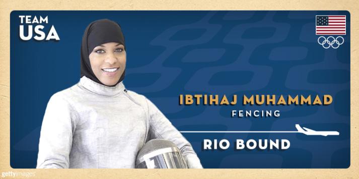 Ibtihaj Muhammad, la première Américaine en hijab à disputer les JO