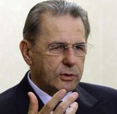 Jacques Rogge, le président du Comité international olympique (CIO)