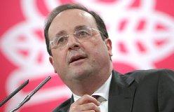 Le Premier secrétaire du Parti socialiste François Hollande
