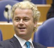 Geert Wilders, 44 ans, député néerlandais et président-fondateur du Parti de la liberté