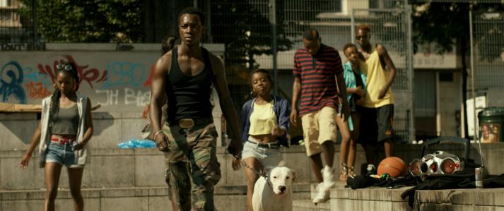 Le bande urbaine des Black Bronx de Bruxelles. © Joe Voets