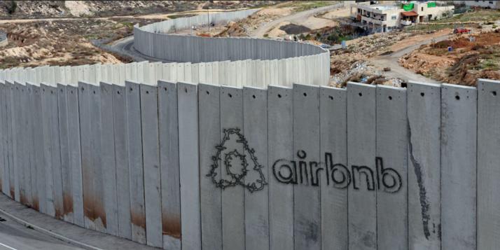 Israël : une coalition internationale lancée pour déloger Airbnb des colonies