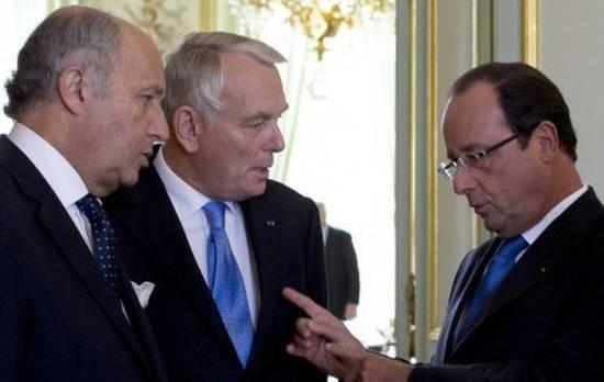 Jean-Marc Ayrault a succédé à Laurent Fabius le 11 février 2016.