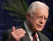 L'ancien président des Etats-Unis, Jimmy Carter