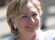 La sénatrice de New York et candidate à l'investiture démocrate Hillary Clinton