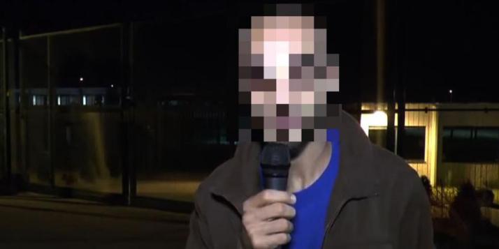 Capture d'écran d'une vidéo YouTube dans laquelle apparaît le journaliste indépendant Fayçal Cheffou