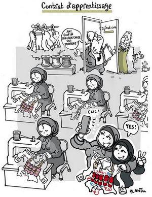Plantu : le dessin honteux qui amalgame femmes voilées et terroristes