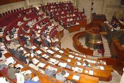 Salle du Grand Hémicycle du Conseil économique et social, où se sont tenues les assises de Dynamique Diversité