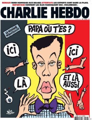 Bruxelles : la famille de Stromae choquée par la couverture de Charlie Hebdo