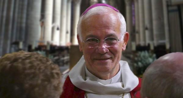 L'évêque de Pontoise, Mgr Stanislas Lalanne.