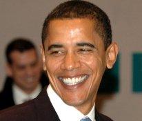 Barack Obama, candidat à l'investiture démocrate
