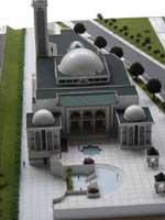 Maquette, permis de construire, terrain : tout est prêt pour construire la mosquée de Tours mais seuls 1 millions d'euros ont été récoltés sur les 5 millions nécessaires.