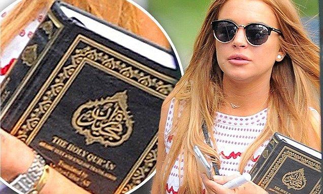 Le vif intérêt de l'actrice Lindsay Lohan pour l'islam confirmé